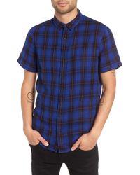 The Rail - Plaid Woven Shirt - Lyst