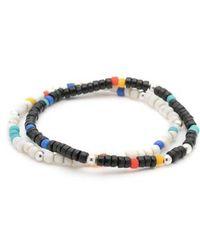 George Frost - Essaouira 2-pack Bracelets - Lyst