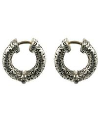 Konstantino - Classics Hoop Earrings - Lyst