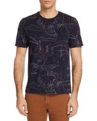 Ermenegildo Zegna - Heritage Print Crewneck T-shirt - Lyst