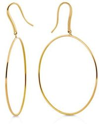 Lana Jewelry - Wire Bangle Hoop Earrings - Lyst