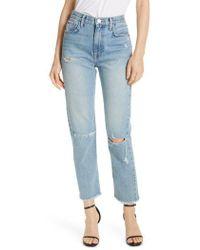 Joie - Weslyn Crop Jeans - Lyst