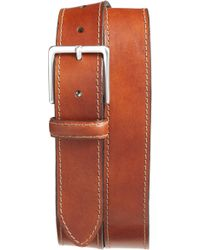 Bosca - The Franco Leather Belt - Lyst