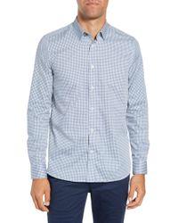 Ted Baker - Jenkins Slim Fit Geometric Sport Shirt - Lyst
