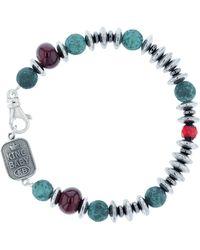 King Baby Studio - Ceramic & Glass Bead Bracelet - Lyst