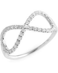 Roberto Coin - Diamond Infinity Ring (nordstrom Exclusive) - Lyst