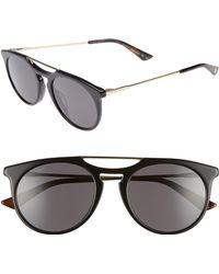 6346b50749 Gucci - Light Combi 53mm Sunglasses - - Lyst
