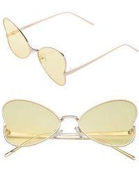 SUNNYSIDE LA - 56mm Heart Sunglasses - Lyst