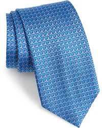 David Donahue - Geometric Silk Tie - Lyst