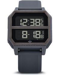 adidas Archive_r2 All Gunmetal Watch