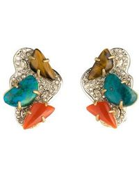 Alexis Bittar - Roxbury Crystal Encrusted Earrings - Lyst