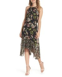 Julia Jordan - Sleeveless Blouson Dress - Lyst