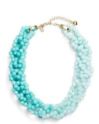 Kate Spade - The Bead Goes On Collar Necklace - Lyst
