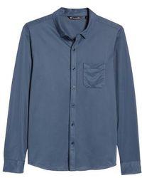 Travis Mathew   Couig Gingham Sport Shirt   Lyst