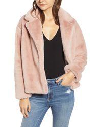 Heartloom - Luna Faux Fur Jacket - Lyst