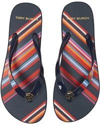 Tory Burch - Wedge Flip Flop - Lyst