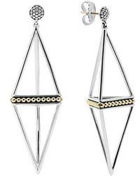 Lagos - 'ksl' Pyramid Drop Earrings - Lyst