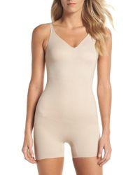 Tc Fine Intimates - Mid Thigh Shaper Bodysuit - Lyst