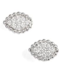 Bony Levy - Mika Diamond Marquise Stud Earrings (nordstrom Exclusive) - Lyst