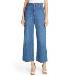 Rachel Comey - Clean Legion Crop Wide Leg Jeans - Lyst