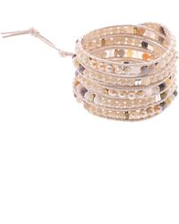 Nakamol - Mixed Bead Wrap Bracelet - Lyst