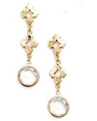 Badgley Mischka | Crystal Drop Earrings | Lyst