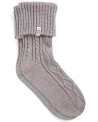 UGG - Ugg 'sienna' Short Boot Sock - Lyst