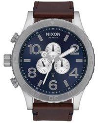 Nixon | 'the 51-30 Chrono' Watch | Lyst