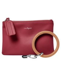 Urban Originals | Mariposa Key Ring & Vegan Leather Card Pouch | Lyst
