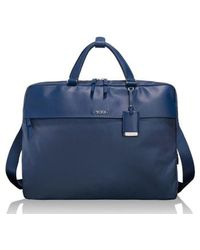 Tumi - Westport Slim Nylon & Leather Briefcase - Lyst