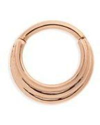Maria Tash - 16 Gauge Hiranya Clicker Ring - Lyst