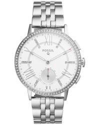 Fossil | Q Gazer Hybrid Smart Bracelet Watch | Lyst