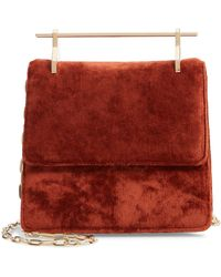 M2malletier - Mini La Collectionneuse Velvet Crossbody Bag - - Lyst