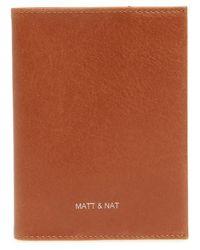 Matt & Nat - Voyage Faux Leather Passport Case - Lyst