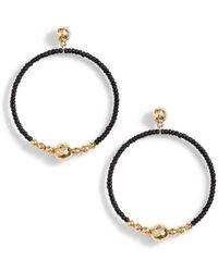 Gorjana - Sayulita Drop Hoop Earrings - Lyst