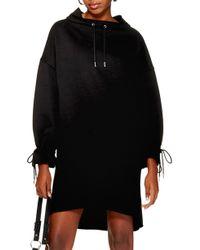 TOPSHOP - Oversize Sweatshirt Dress - Lyst
