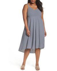 Taylor Dresses - Stripe Midi Sundress - Lyst