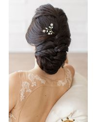 Brides & Hairpins Ameenah Floral Crystal Pin - Multicolour