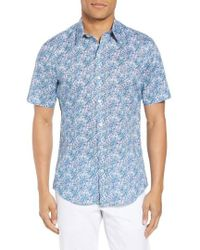 Zachary Prell - Goelzer Trim Fit Sport Shirt - Lyst