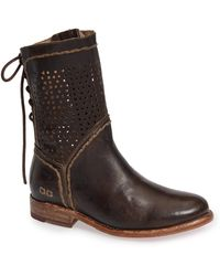 Bed Stu - Cheshire Perforated Shaft Boot - Lyst