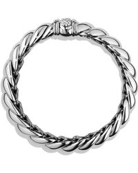David Yurman - Hampton Bracelet With Diamonds - Lyst