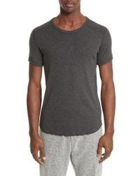 Wings + Horns - Ribbed Slub Cotton T-shirt - Lyst
