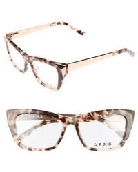 L.A.M.B. - 52mm Optical Cat Eye Glasses - Lyst