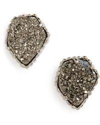 Kendra Scott | Tessa Stone Stud Earrings | Lyst