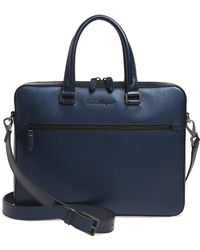 Ferragamo - Revival Metta Leather Briefcase - Lyst