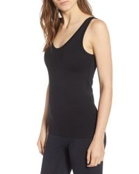 James Perse - Scoop Neck Surf Tank - Lyst