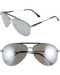 Tom Ford - 'rick' 62mm Aviator Sunglasses - - Lyst