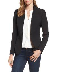 Anne Klein | Open Front Jacket | Lyst