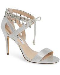 Nina - Collina Jewel Ankle Tie Sandal - Lyst
