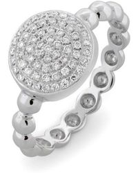 Bony Levy - Aurora Diamond Pave Circle Ring (nordstrom Exclusive) - Lyst